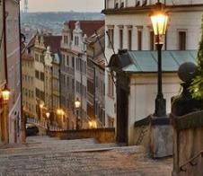 Prag - Schloßtreppe